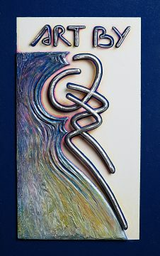 Photo: Art by Ozz logo.